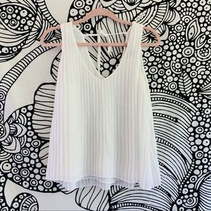 forever 21 pleated tank